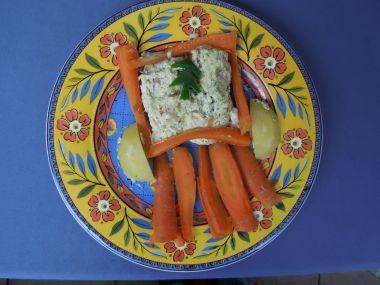 Zapečené rybí filé s bramborem a SÝREM