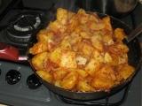 Paprikové brambory v pánvi recept