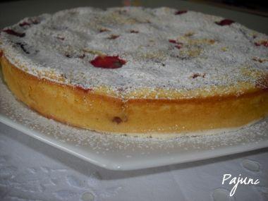 Jahodový koláč (tarte aux fraises)