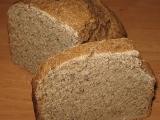 Grahamový špaldový kváskový chléb recept