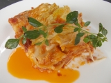 Lasagne s kapustou a sýrovým bešamelem recept