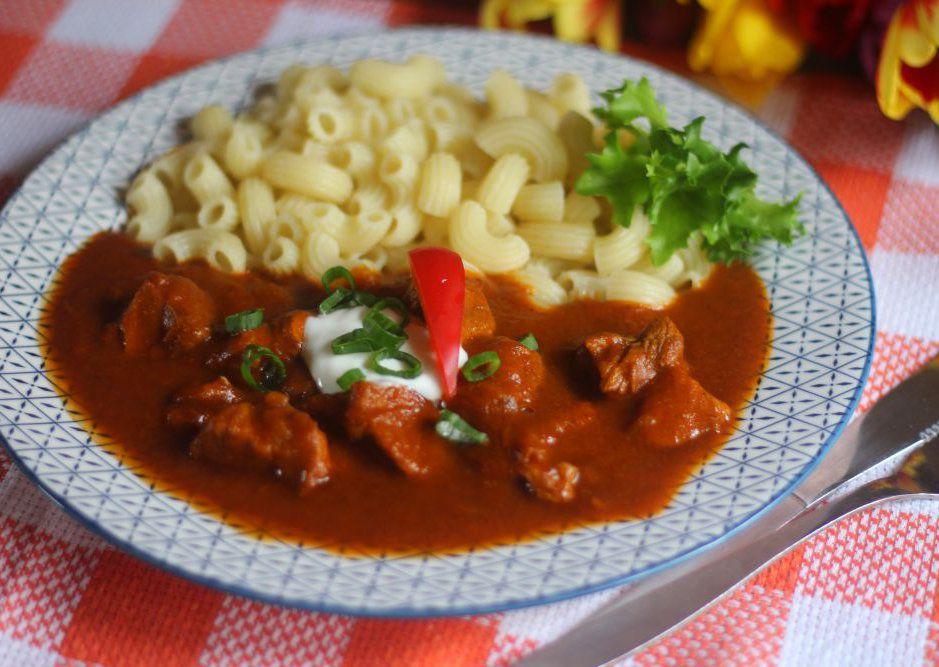 Vídeňský telecí guláš recept