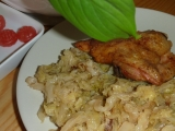 Kuřecí stehna na kapustě recept