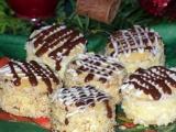 Medové dortíčky s piškotem recept
