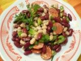Pestrý fazolový salát recept