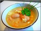 Světlá fazolová polévka recept