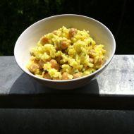 Salát z cizrny a rýže recept