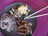 CHOP SUEY (čína z wok pánve) se soba nudlemi recept ...