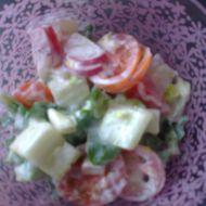 Římský salát v jogurtu recept