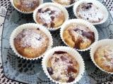 Muffiny s jablky a ostružinami recept
