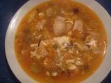 Zeleninová polévka s pangasem recept