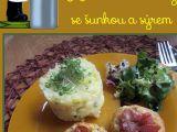 Květákové krokety se šunkou a sýrem recept