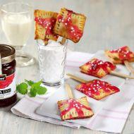 Šátečky s malinovým džemem recept