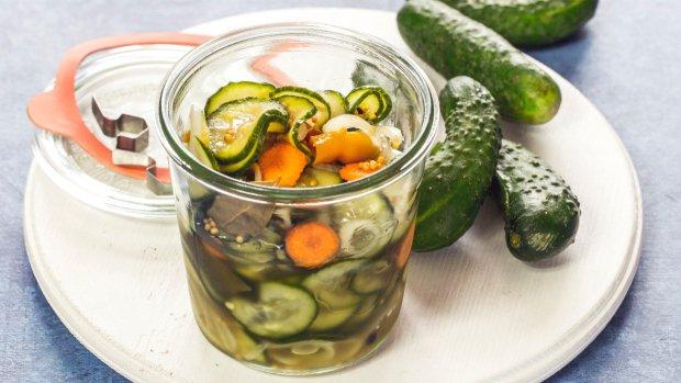 Nakládačky bez vaření aneb okurkové pickles