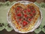 Pizza-valentýnská mé dcery recept
