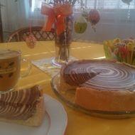 Tvarohový koláč Zebra recept