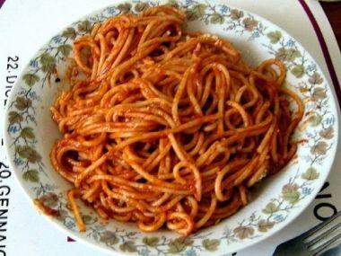 Italský guláš (pastasciutta)