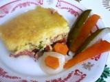Polenta s pršutem recept