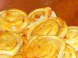 Česneková kolečka recept