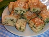 Tvarohové pagáčky s medvědím česnekem recept