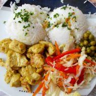 Kuřecí švejžužu s rýží recept