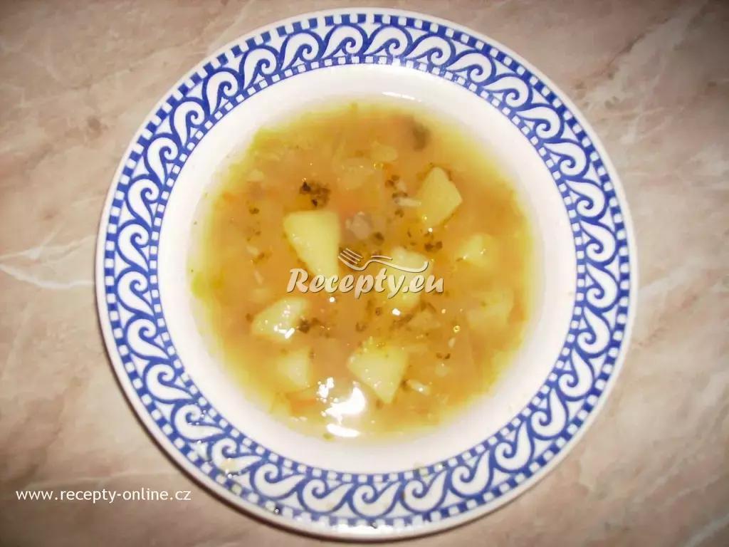 Kapustová polévka II. recept  polévky