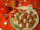 Ořechy s karamelovou nádivkou recept