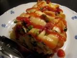 Zapečené těstoviny s hráškem recept