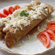 Palačinky z celozrnné mouky se špenátem a balkánským sýrem ...