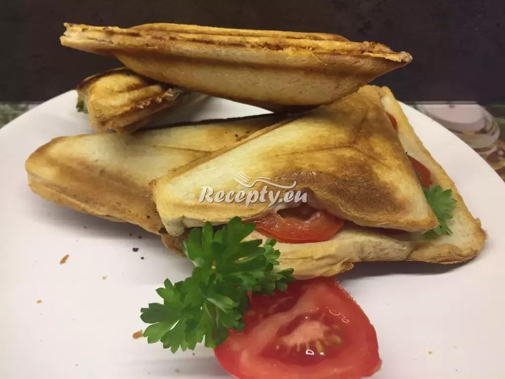 Pikantní toasty recept  topinky, toasty, sendviče