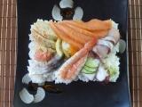 Rozházené sushi Chirashizushi recept