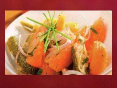 Večeře 54  Zeleninový salát se sýrem