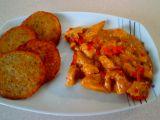 Kuřecí nudličky s bramborákem recept