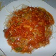 Jednoduché špagety pro gurmány recept