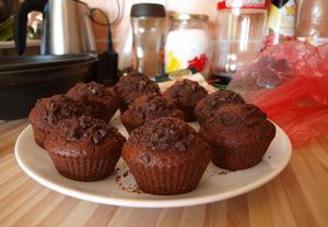 Exkluzivní čokoládové muffiny