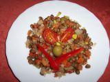 Novoroční čočkový salát s Moravankou recept