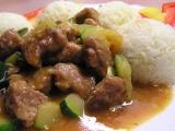 Vepřové maso s cuketou recept