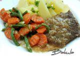 Dušené hovězí s mrkví a fazolkami recept
