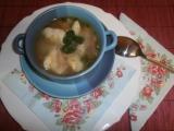 Králičí polévka se sýrovými nočky recept