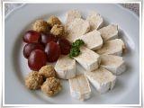 Camembert s chutnou sýrovo  ořechovou náplní recept ...