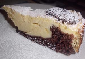 Tvarohový koláč líné ženy