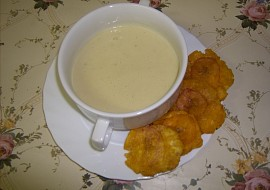 Sopa de Plátano Verde – polévka z plantainů recept