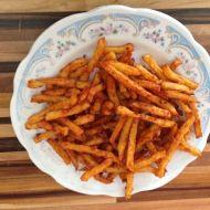 Kořeněné domácí hranolky recept