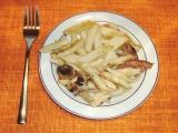 Zapečené těstoviny se smetanou recept