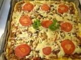 Tvarohová pizza recept