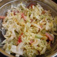 Lehký zeleninový salát s dresingem recept