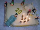 U tučňáků na návštěvě :-)  dortík recept