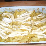 Celerové brambory se smetanou recept