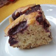 Šlehačkový koláč s jahodami recept