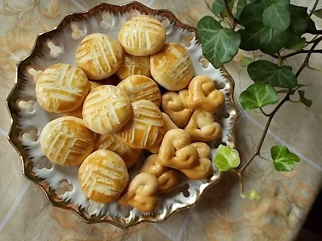 Kárované sušenky recept